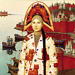 Belts Andrew - tamer and other paintings, 900 Classic russian paintings