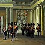 LADYURNER Adolf – The Armorial Hall of the Winter Palace, 900 Classic russian paintings