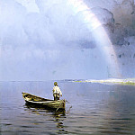 900 Classic russian paintings - DUBOVSKAYA Nikolay - Rainbow