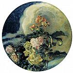 900 Classic russian paintings - Vrubel Michael - Yellow Roses
