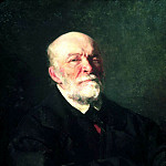 900 Classic russian paintings - Ilya Repin - Portrait of Pirogov