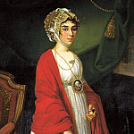 900 Classic russian paintings - Argun Nikolai - Portrait of Countess Sheremetevs