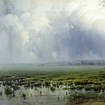 900 Classic russian paintings - Kryzhitsky Constantine - Marsh