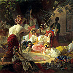 900 Classic russian paintings - BRYULLOV Karl - Bakhchisarayskiy Fountain