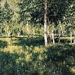 900 Classic russian paintings - Isaak Levitan - Birchwood