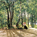 900 Classic russian paintings - Shishkin Ivan - About Cottage