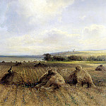 By the end of the summer on the Volga, Alexey Kondratievich Savrasov