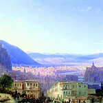 Aivazovsky, Ivan - View of Tiflis. 1868, 900 Classic russian paintings