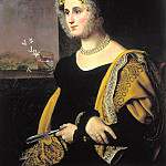900 Classic russian paintings - Kiprensky Orestes - Portrait of Catherine Sergeevna Avdulinoy. 1822
