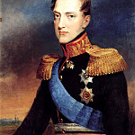 Golikov Basil – Portrait of Grand Duke Nicholas, 900 Classic russian paintings