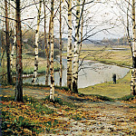 900 Classic russian paintings - VOLKOV Yefim - October