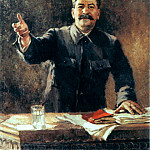 Portraits of Stalin - Alexander Gerasimov. 1, 900 Classic russian paintings