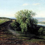 900 Classic russian paintings - Klodt Mikhail (K.) - Volga near Simbirsk. 1881