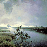 900 Classic russian paintings - ENDOGUROV Ivan - rain