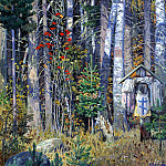 Ivan Glazunov - The Pinega, 900 Classic russian paintings