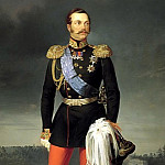 Boatman Egor – Portrait of Alexander II, 900 Classic russian paintings