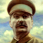 900 Classic russian paintings - Portraits of Stalin - Clement Redko