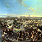 900 Classic russian paintings - Kotzebue Alexander - Battle of Novi
