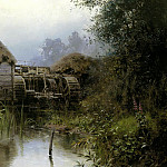 Polenov Vasily - Old Mill, 900 Classic russian paintings