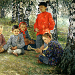 Bogdanov-Belsky Nikolai - Virtuoso, 900 Classic russian paintings