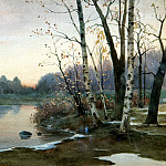 900 Classic russian paintings - Richard Bergholz - Autumn