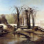 Alexei Savrasov - Spring Day, 900 Classic russian paintings