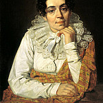 Venetsianov Alexei - Portrait of MA Venetsianov. 1810 e, 900 Classic russian paintings