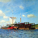 Isaak Levitan - Fresh wind. Volga, 900 Classic russian paintings