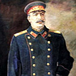 900 Classic russian paintings - Portraits of Stalin - unknown