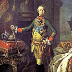 900 Classic russian paintings - ANTROPOV Alexei - Portrait of Peter III