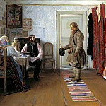 BOGDANOV Ivan - For the calculation, 900 Classic russian paintings