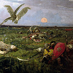 Viktor Vasnetsov - After Igors battle with Polovtsy, 900 Classic russian paintings