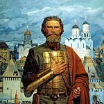 900 Classic russian paintings - Matorin Victor - Holy pious Great Moscow Prince Dmitry Donskoy