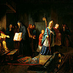 EGGINK Ivan - Grand Duke Vladimir selects faith, 900 Classic russian paintings