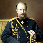 KULIKOV Ivan – Alexander III, 900 Classic russian paintings