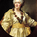 900 Classic russian paintings - Levitsky Dmitry - Portrait of Empress Catherine II. 1794