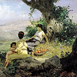 900 Classic russian paintings - Semiradsky Henry - Holidays