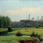 Kondratenko Gabriel - Summer landscape, 900 Classic russian paintings
