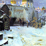 900 Classic russian paintings - Vasnetsov Apollinary - Old Russian Cities