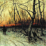 Julius Klever - In the evening, 900 Classic russian paintings