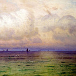 900 Classic russian paintings - DUBOVSKAYA Nicholas - Sea. Sailboats