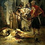 900 Classic russian paintings - MAKOVSKY Constantine - Bulgarian martyr