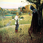 Nesterov Mikhail – Fine arts, 900 Classic russian paintings