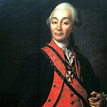 Levitsky Dmitry - Portrait of Suvorov, 900 Classic russian paintings