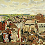 900 Classic russian paintings - Vasnetsov Apollinary - The Moscow Kremlin