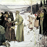 900 Classic russian paintings - Nesterov Mikhail - Holy Rus