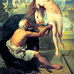 Mark Alexei - Fortune and the Pauper, 900 Classic russian paintings