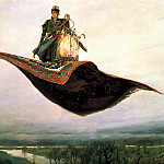 900 Classic russian paintings - Viktor Vasnetsov - Magic Carpet