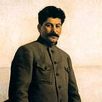 Portraits of Stalin - Isaak Brodsky, 900 Classic russian paintings