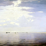 DUBOVSKAYA Nicholas – On the Volga, 900 Classic russian paintings